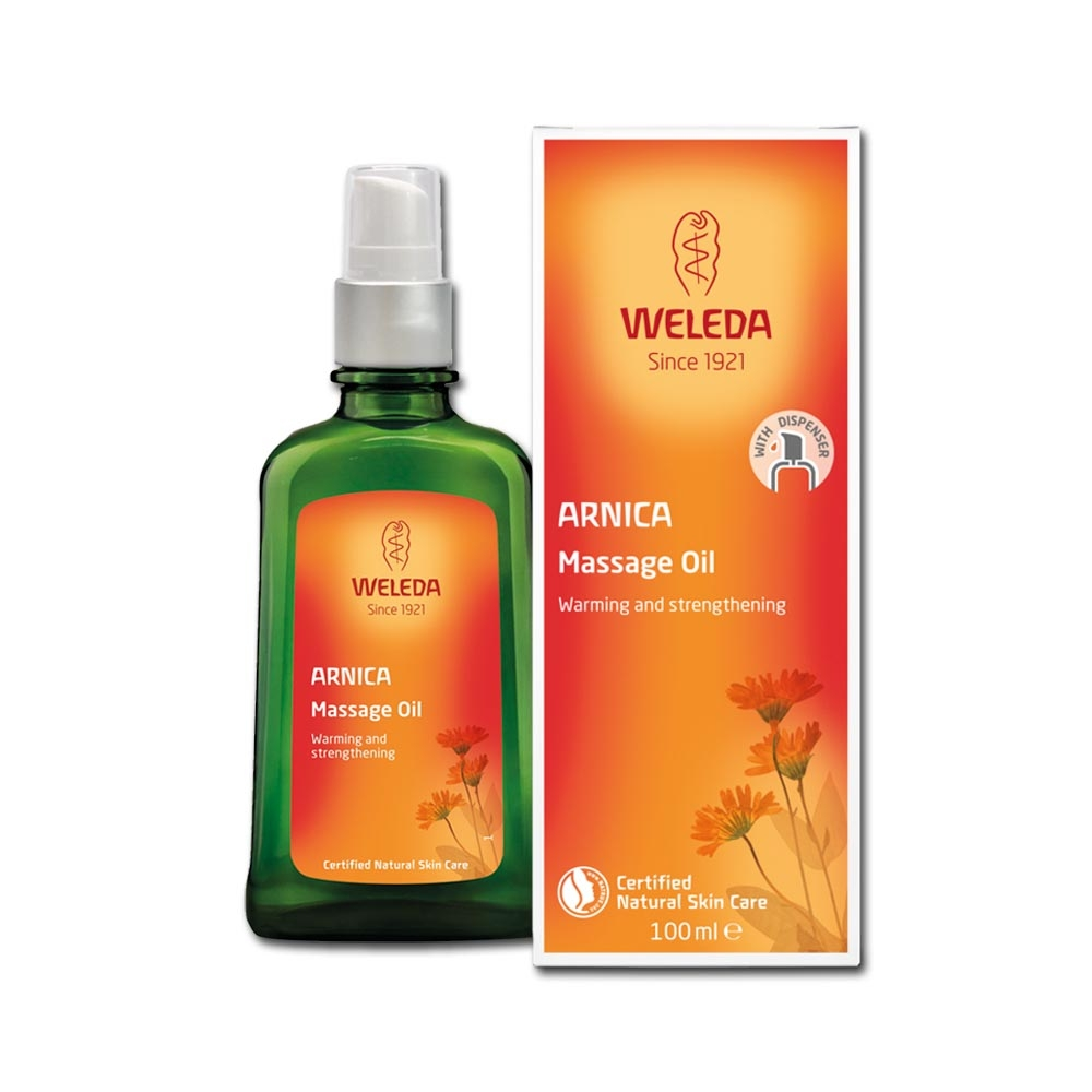 本頁圖片/檔案 - Weleda Arnica Massage Oil
